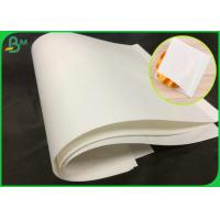 Quality 70GSM Natural Virgin White Kraft Paper Roll With FSC Certification for sale