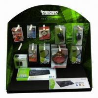 Quality Cardboard PDQ Display Stand, Customized Designs and Logos Welcomed for sale