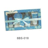 Quality Natural Bath And Body Gift Set With 150g Crystal Bath Salt #8BS-018 for sale