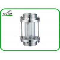 Quality Sanitary Straight / Inline Pipe Sight Glass Male Thread Connection , Reducing Shaped for sale