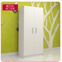 Quality Small Size Bedroom Wardrobe Closet Sliding Opening Simple Modern Style For Storage Clothes for sale