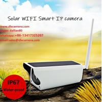 Quality Outdoor waterr-proof 1920X1080p 2MP Solar power Battery Wireless 128G SD IP CCTV Security Camera Two Ways Audio and APP for sale