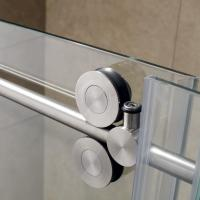 Buy 304 Stainless Steel Sliding Glass Free Standing Shower Enclosure at wholesale prices