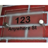 Quality Factory hot sell illuminated acrylic sign board outdoor,acrylic logo board for sale