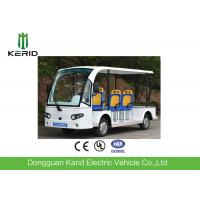 Quality ADA Accessible Electric Sightseeing Car / Utility Cart With 4 Bus Seats Low Speed for sale
