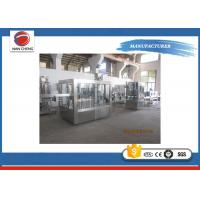 Quality Soft Drink /  Carbonated Drinks Filling Machine 9.5KW Large Capacity Adjustable Speed for sale