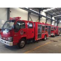 Quality 500 Gallons Fire Department Trucks 2 Tons Small Fire Tanker Good Performance for sale