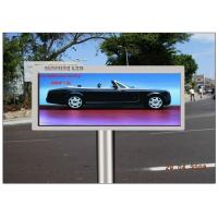 Quality Advertising Transparent LED Screen , CE 16mm Pitch Pixel Electronic Display Board for sale
