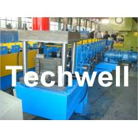 Quality U Section Roll Forming Machine With 12 Forming Station For 1.5 - 3.0mm Thickness for sale