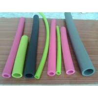 Quality Small Diameter Silicone Coloured Foam Tubes Non Toxic For Water And Fluid Lines for sale