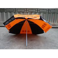 Buy 6.5 Ft Large Garden Sun Shade Umbrella Screen Hand Printing For Outdoor Advertising at wholesale prices
