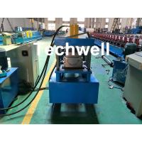 Quality Custom Made Half Round Gutter Cold Roll Forming Machine For 15 Stations Forming Stage for sale