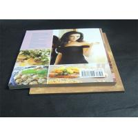 Quality Gloss Lamination Customized Cookbook printing , hardcover photo book printing for sale