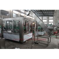 China PET Bottle Filling Equipment For Carbonated Drink / Sparkling Water Bottling Plant on sale