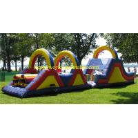Buy cheap inflatable obstacle course for sale , obstacle course equipment , obstacle from wholesalers