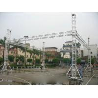 Quality Outdoor Aluminum Stage Truss With Aluminum Tube / LED Screen Truss for sale