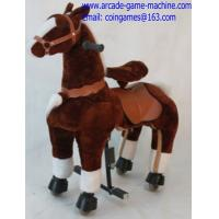 Quality Amusement Park Mechanical Animal Kids Horse Ride For Sale for sale