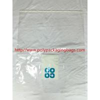 Quality Large Permanent Self Adhesive Plastic Bags 1 Color Gravure Printing for sale