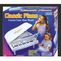 Buy Functional Plastic Toddler Toy Piano 32 Keys Grand Type With Microphone at wholesale prices
