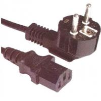 Quality VDE power supply cord, European cord set with Schuko plug and C13 for sale