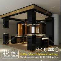 Quality LED light jewelry display showcase,display cabinet and showcase for jewelry shop for sale