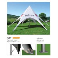 Quality Outdoor Personalized Canopy Tents, Foldable Star Custom Printed Pop Up Tents for sale