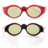 Quality Popular durable pink color children DLP Link 3D Glasses For Home Theater / Small film theater for sale