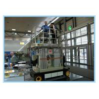 China Four Mast Self Propelled Aerial Scissor Lift 10m For Business Decoration on sale