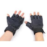 Quality Leather Combat Half Finger Tactical Glove (WS20028) for sale