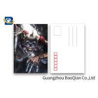 Quality Pantone Color Printing PET 3D Lenticular Postcards 3 Dimensional Effect Image for sale