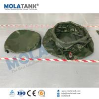 Quality Molatank 1000L PVC Onion Tank with Cover for water storage as firefighting tank for sale