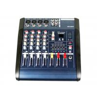 Quality Professional Audio Mixer SD card interface  , 4 channel audio mixer XR400F for sale