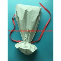 Quality White CPE Drawstring Plastic Bags For New Year Gift / Women 'S Personal Items for sale