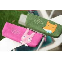 Quality Popular Europe eco-friendly felt pencil case for school students for sale