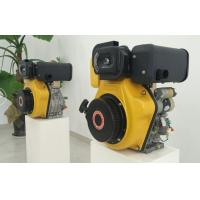 Quality 7.2kw Electric Starter Small Single Cylinder Diesel Engine For Agriculture Machines for sale