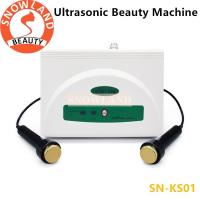 Buy Portable Ultrasonic Beauty Machine Body and Face Care Beauty Salon Equipment at wholesale prices