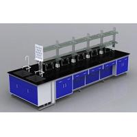 China Steel Fabrication Height Adjustable Chemical Laboratory Bench on sale