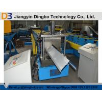 China High Precision Metal Roof Ridge Cap Roll Forming Machine With 5 Ton Decoiler on sale