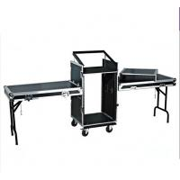 Quality 14U Amplifier Rack Flight Case With Stand Table for sale