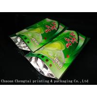 Quality Coffee Customized Stand Up Pouches / Heat Sealable Tea Packaging Bags 50G for sale