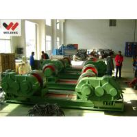 Quality Fit Up And Assembly Pipe Welding Rotator , Bolt adjustable Welding Turning Roller HGK10 For Tank for sale