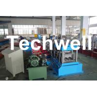 China Gimbal Gearbox Drive C Channel Roll Forming Machine, C Channel Forming Machine on sale