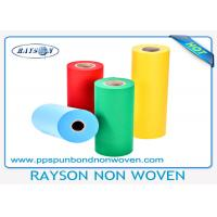 Quality Blue Polypropylene Spunbond PP Non Woven Fabric 10 - 150gsm For Medical for sale