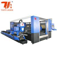 Quality Taiyi Cypcut Fiber 3D Laser Cutting Machine 1070nm Laser Wavelength for sale