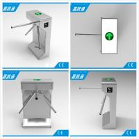 Quality Electric Waist Height Drop Arm Turnstile Comapct Safety Mechanical Tripod Turnstile Gate for sale
