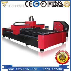 China 500-2000W fiber laser cutting machine price to cut metal, TL1530-1000W THREECNC on sale