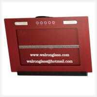 Quality Red Tempered Glass for Kitchen Range Hood/Kitchen Chimney Hood/Home Appliance for sale