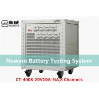 Quality Low Heat Generate Neware Battery Testing System , 18650 Battery Capacity Tester for sale