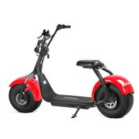 Quality EcoRider Two Wheels Electric Scooter Off Road Harley Scooter With 2 Seat for sale