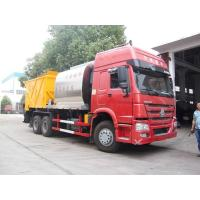 Buy cheap HOWO 6*4 Road Construction Bitumen Tank And Gravel Synchronous Slurry Seal Chip from wholesalers